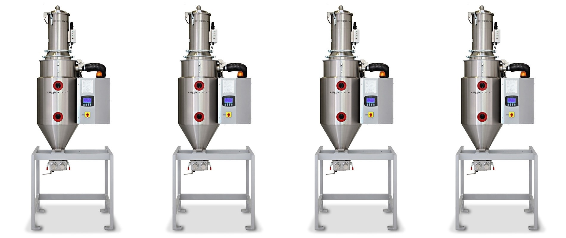 Dry-air-dryers Drywell for plastic granulate